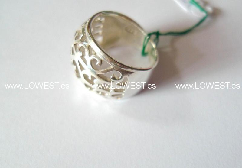 anillos plata precio