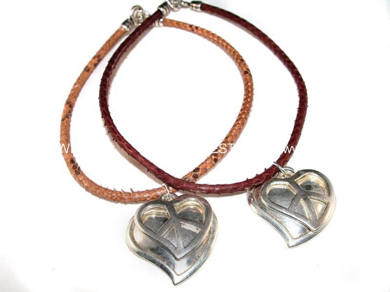 collar plata corazon