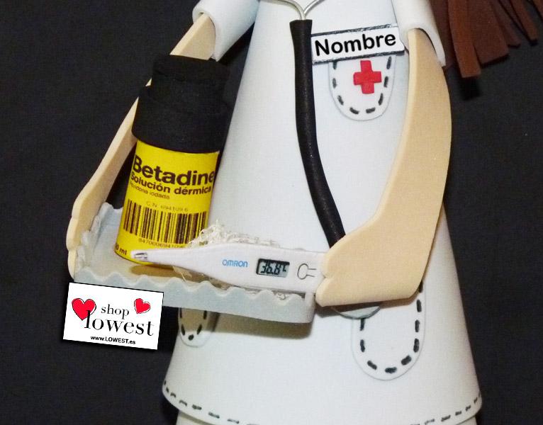 fofucha enfermera termometro