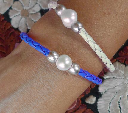 fotos pulseras perlas