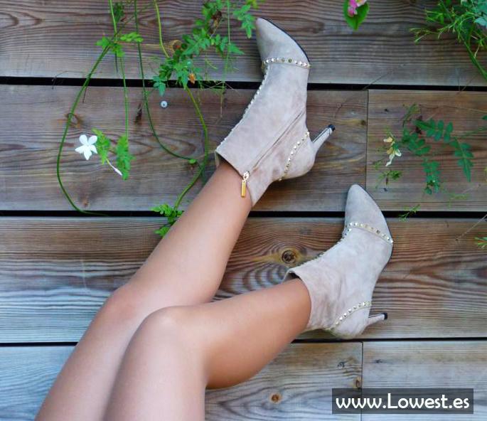 como llevar botines