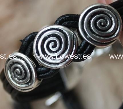 pulseras arabesco plata