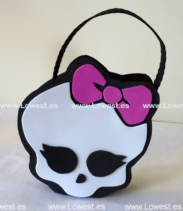 bolso chucherias monster high