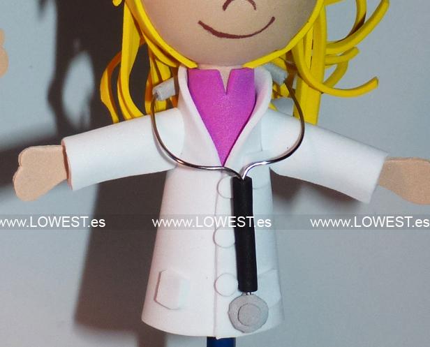 muñecas de doctoras