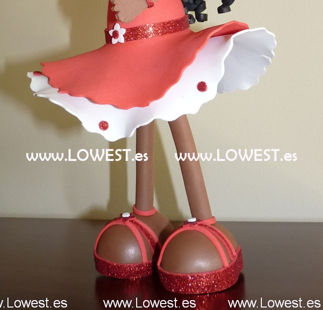 muñecas hechas morenitas