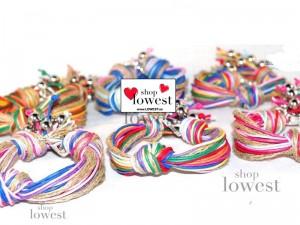 pulseras con nudos cordon