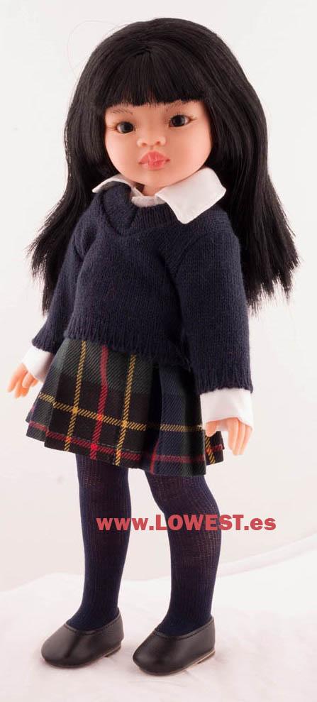 uniformes colegio muñecas