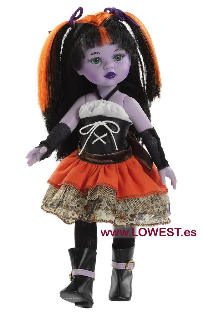 muñecas vestidos halloween