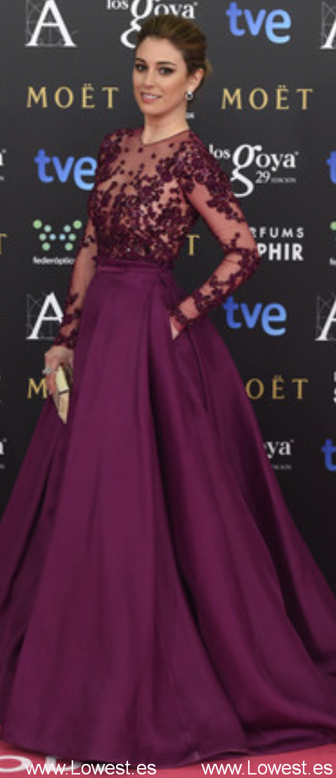 Moda en los Goya 2015