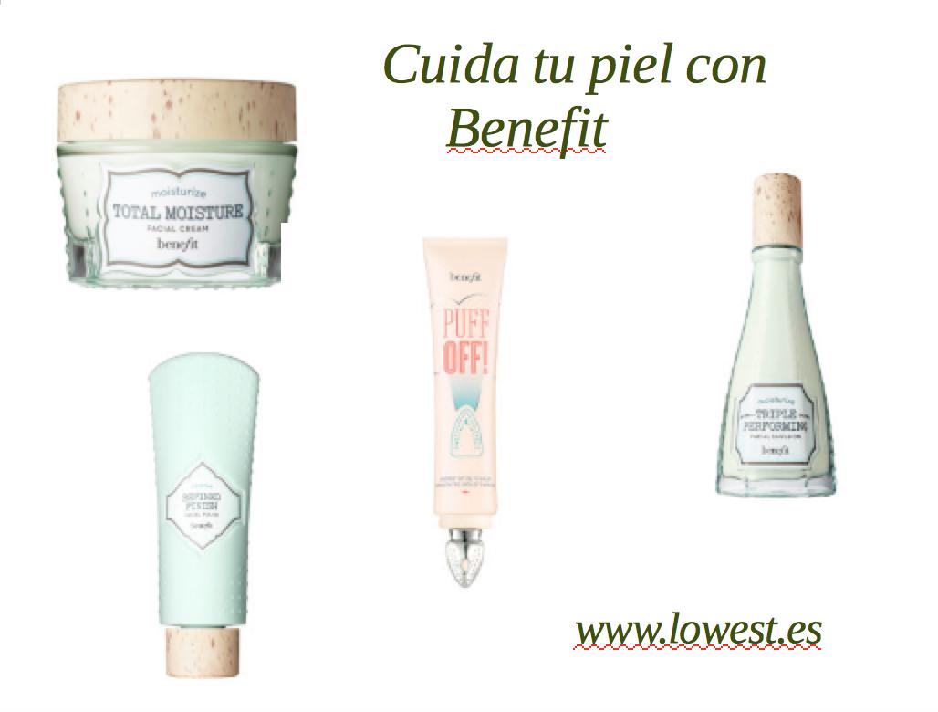 Cuida tu piel con Benefit