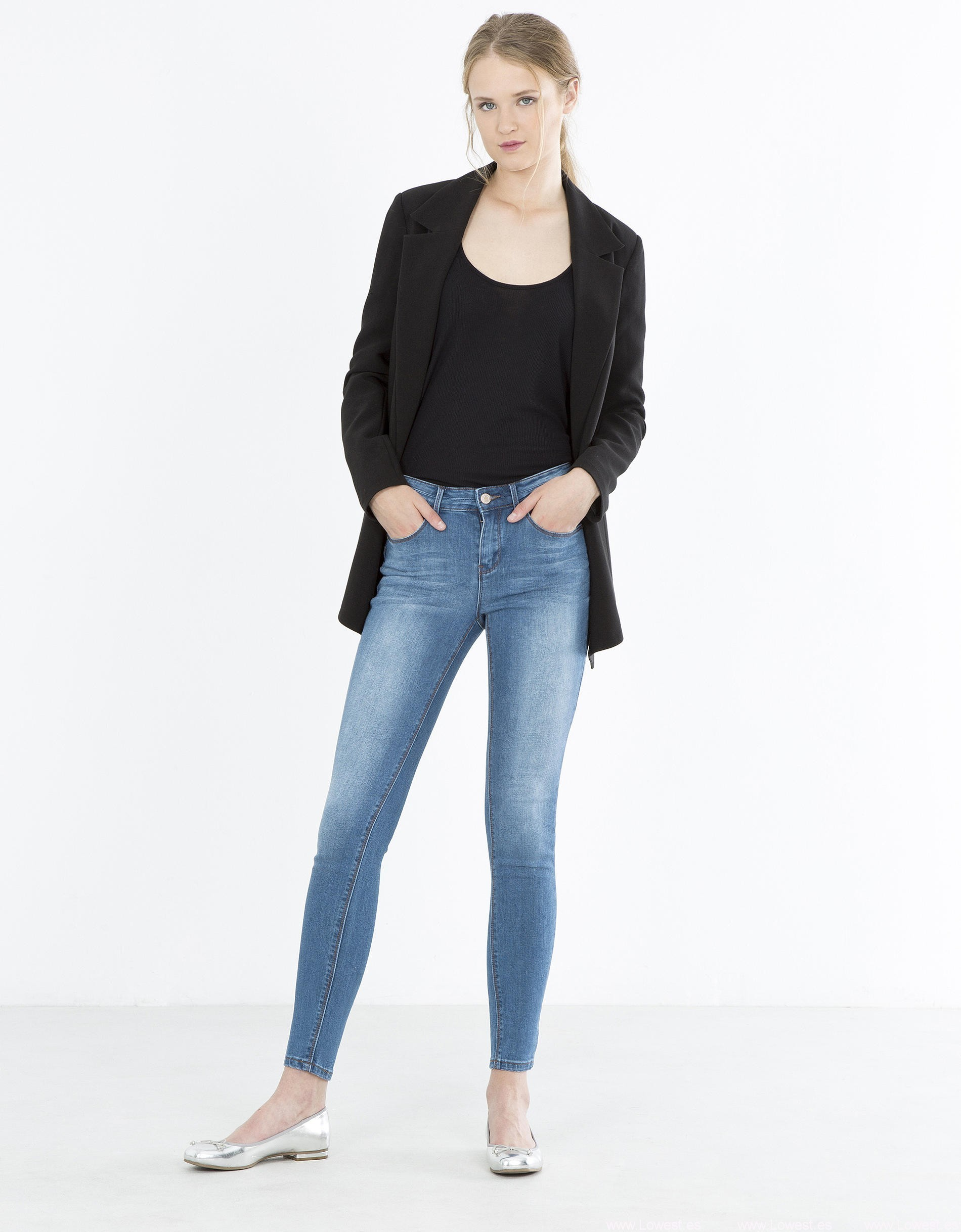chaquetas online tight jeans mujer